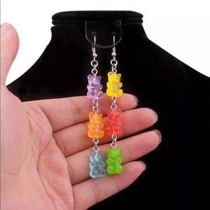 Gummy bears animal Candy earrings
